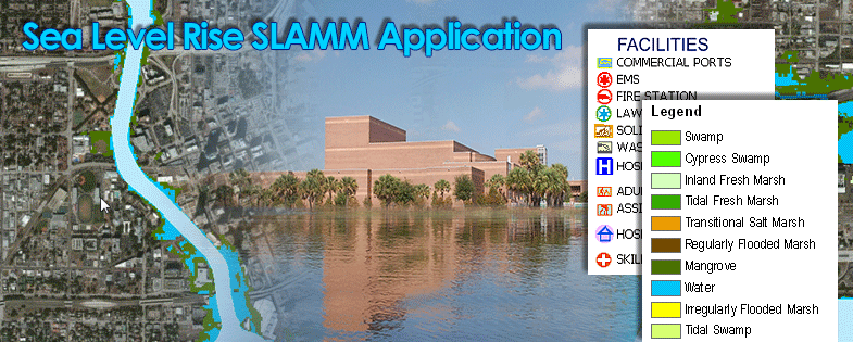 Sea Level Rise SLAMM Application